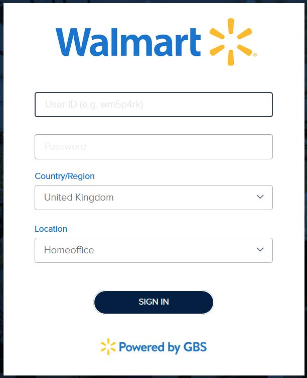 walmart wire login page