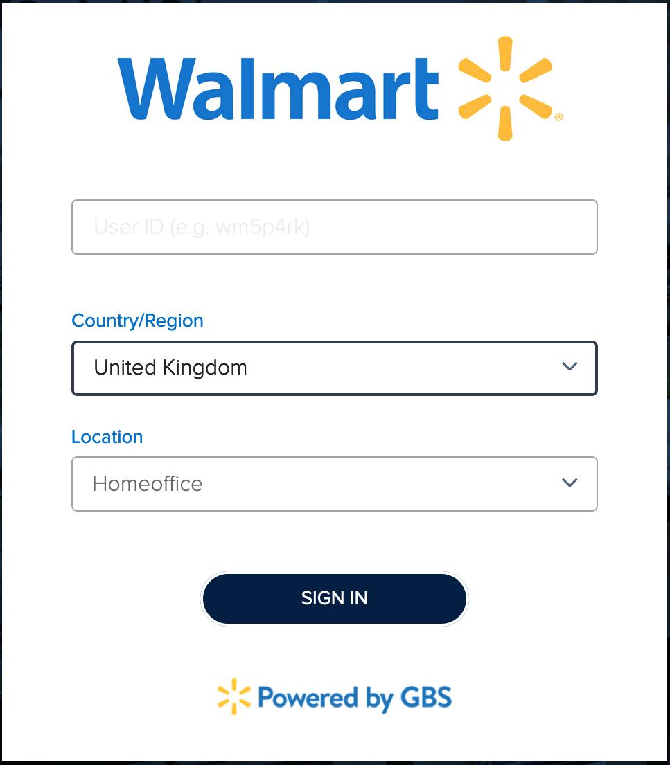 One Walmart Login
